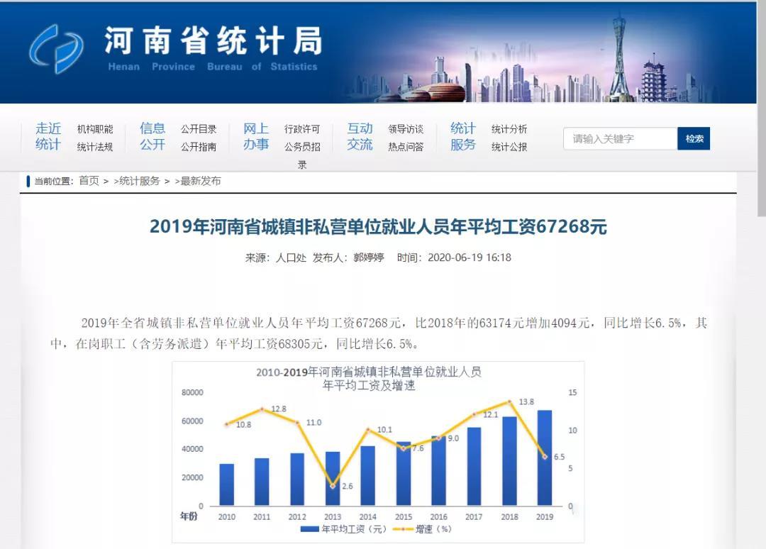 2020年河南省人身损害(交通事故)赔偿金标准增加